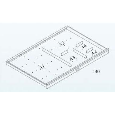 Lådindelning till ritningsskåp