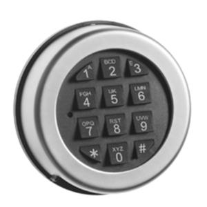 Elkodlås Alpha 2020 1+1 kod till Nyckelskåp modell N