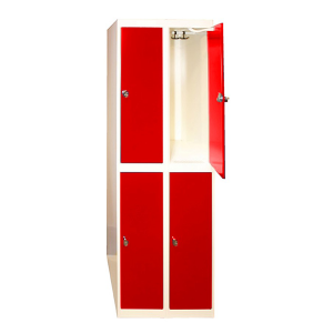 Klädskåp modell 2, 2 fack på höjden