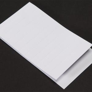 Textetikett 1 1/2 linjers till Solo hängmapp