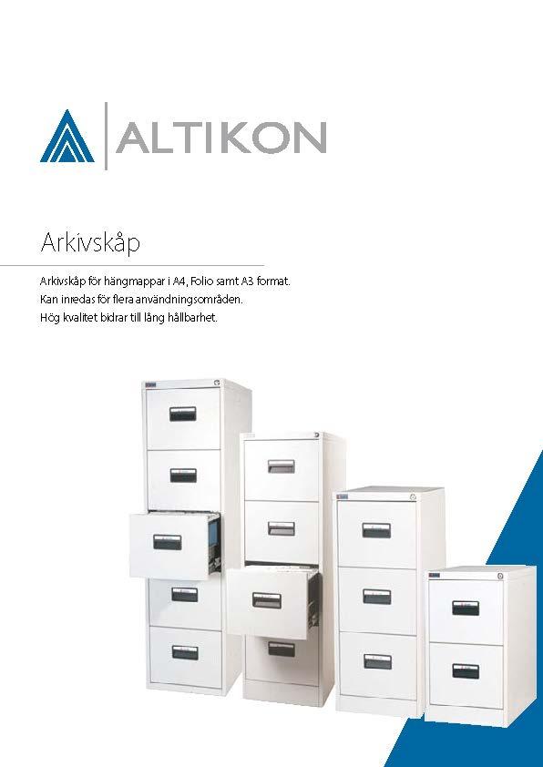 Produktblad Arkivskåp, framsida pdf