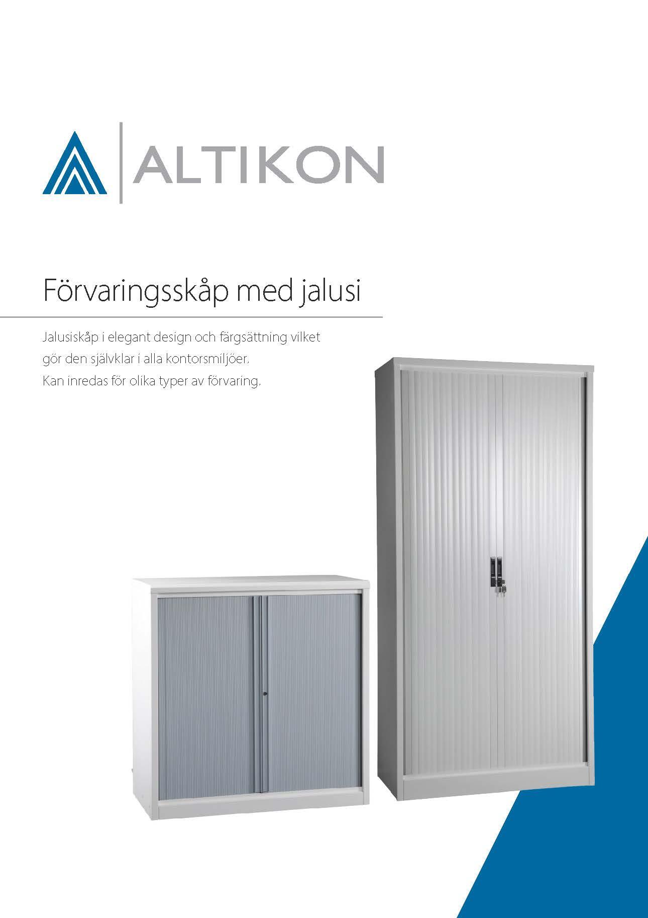 Produktblad Förvaringsskåp NSO, framsida pdf