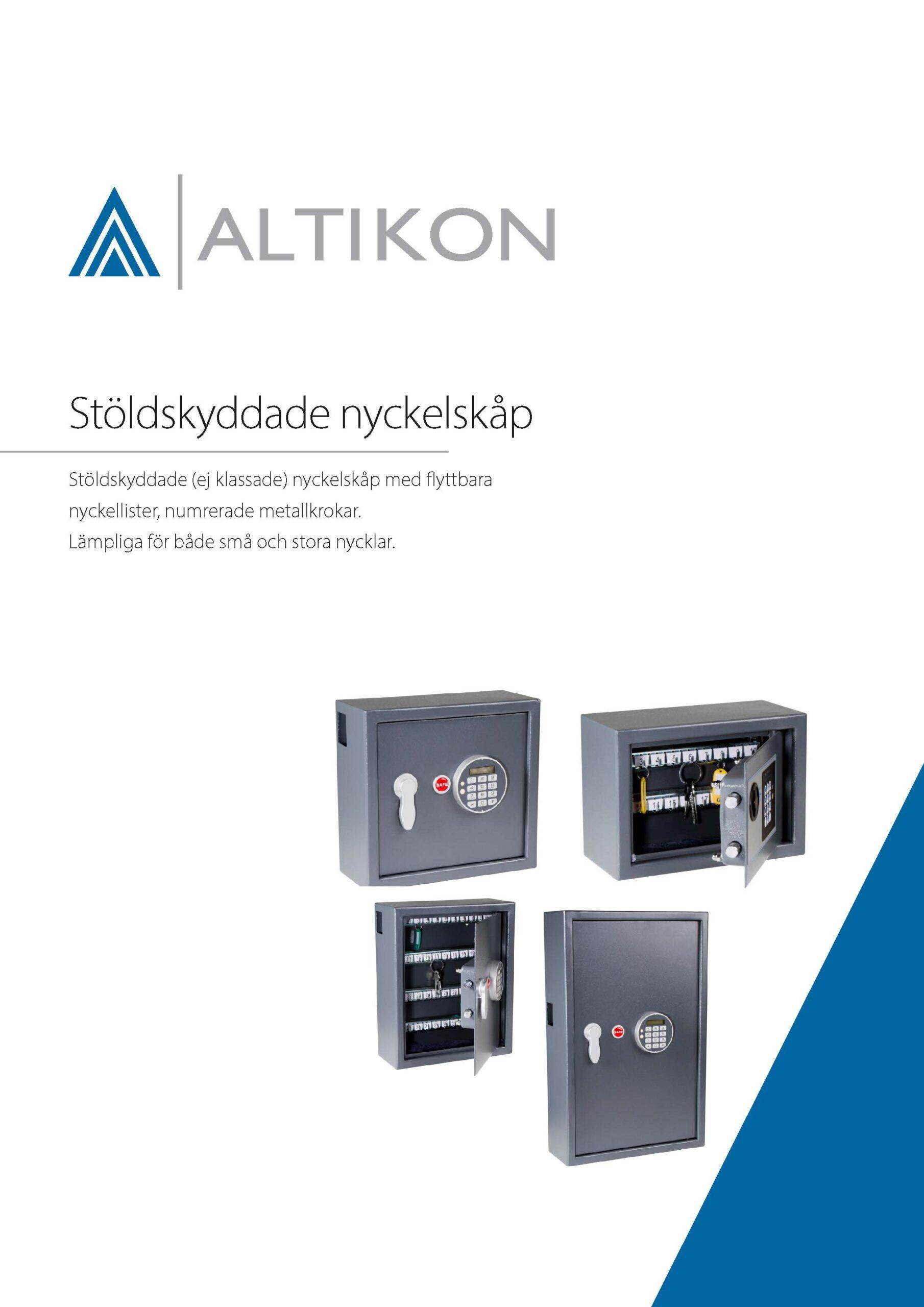 Produktblad nyckelskåp stöldskyddade N - framsida, pdf
