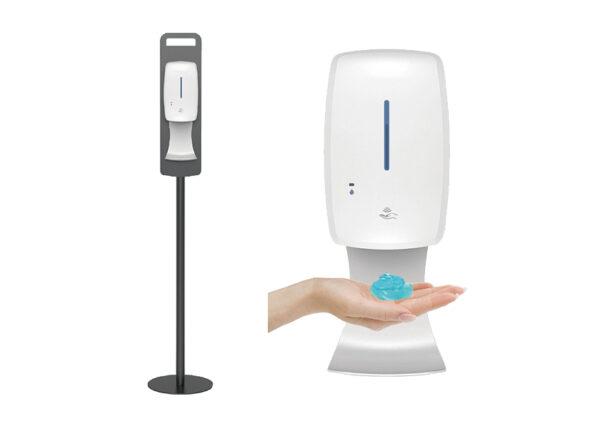 Automatisk handspritdispenser med stativ